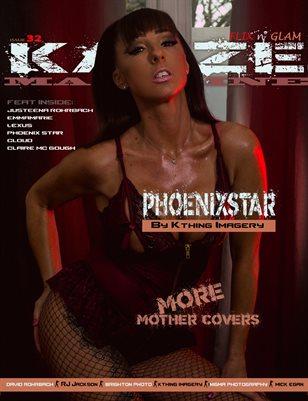 Kayze magazine issue 32 - PHOENIXSTAR - FLIX N' GLAM