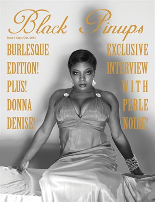 Black Pinups Issue 5-Perle Noire