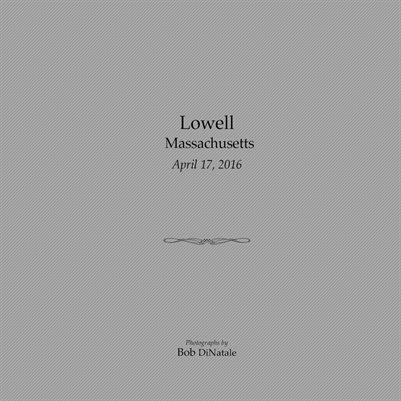 Lowell April, 2016
