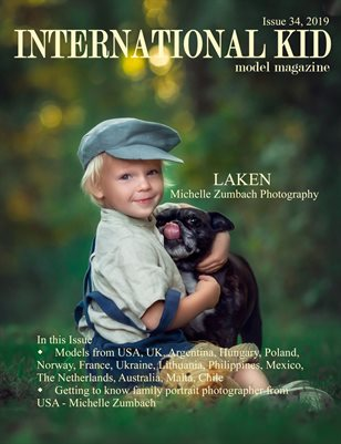International Kid Model Magazine Issue #34