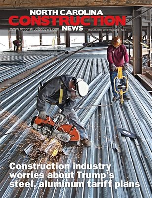 North Carolina Construction News (March/April 2018)