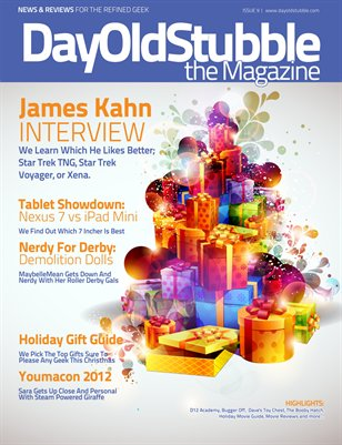 Issue 9 : November 2012 | Holiday Gift Guide