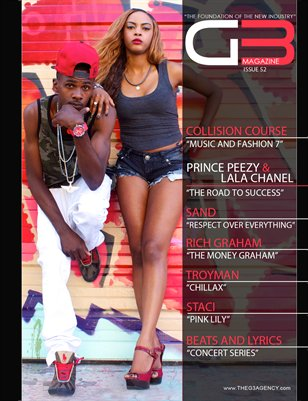 G3 Magazine Issue 52 (Prince Peezy & LaLa Chanel)