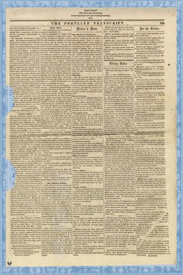 (PAGE 3-4) PORTLAND TRANSCRIPT, AUG.27, 1853