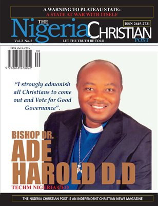 The Nigeria Christian Post: Dr Bishop Ade Harold D.D