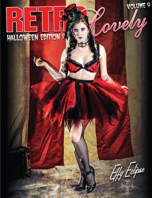 Retro Lovely Halloween 2019 Volume No.9 – Effy Eclipse Cover