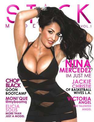 Stack Models Magazine Issue 1 Nina Mercedez Cover