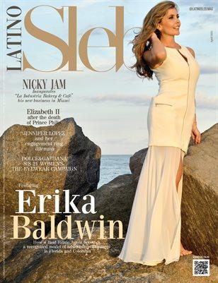 LATINO SLEB Magazine - ERIKA BALDWIN - April/2021 - PLPG GLOBAL MEDIA
