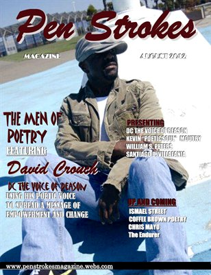 PEN STROKES MAGAZINE MEN OF POETRY DC COVER