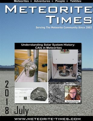 Meteorite Times Magazine - July 2018 Issue