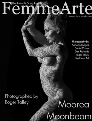 FemmeArte® Magazine December 2016 Issue #3 Cover Model: Moorea Moonbeam