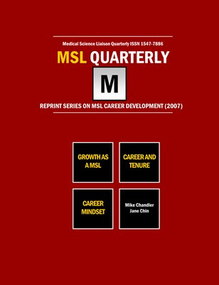 MSL Career Development 2007