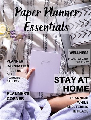 Paper Planner Essentials June 2020