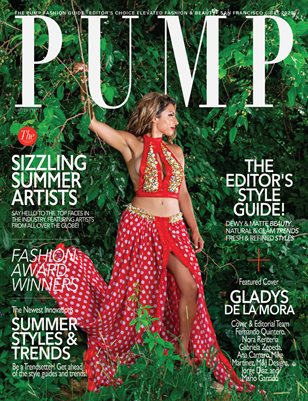 PUMP Magazine | Editor's Choice Elevated Fashion & Beauty | July 2020 | Vol.3