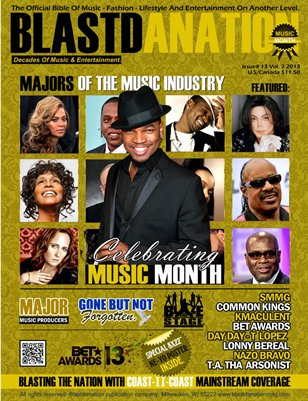 "Blastdanation Magazine June 2013 ""Music Month"" Edition, Issue 14"