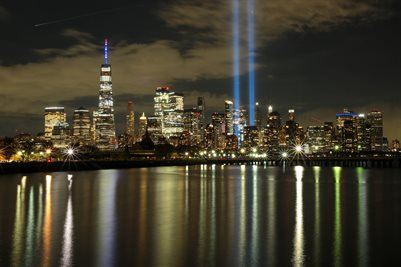 Tribute Lights 9/11/2020