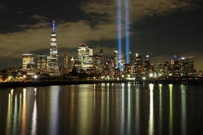 Tribute Lights 9/11/2020