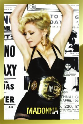 Madonna Gold Hard Candy Era Poster