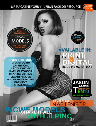 JLP MAGAZINE March 2013 (WCWE MODELS) Exclusive Issue