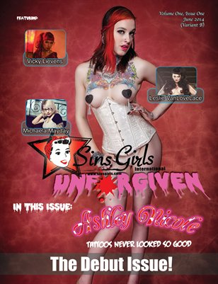 Unforgiven Issue #1 (Ashley Nichole Cover)