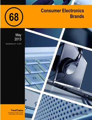 TrendSignal™ Report: Consumer Electronics Brands (May 2013)
