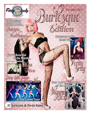 November 2015 Burlesque Issue