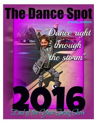 DANCE SPOT YEARBOOK 2016