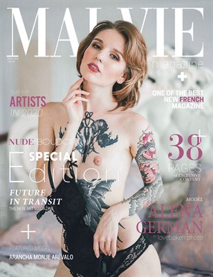MALVIE Mag | NUDE and Boudoir Special Edition | Vol. 08 | MAY 2020