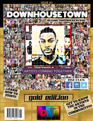 DownhouseTown Issue #1 Gold Edition