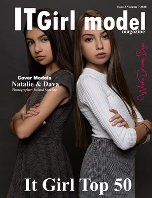 It girl model magazine Issue 3 Volume 6 2020