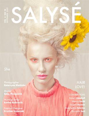 SALYSÉ Magazine | Vol 6 No 18 | SEPTEMBER 2020 |