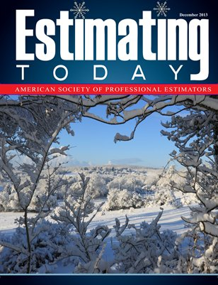 Estimating Today December 2013