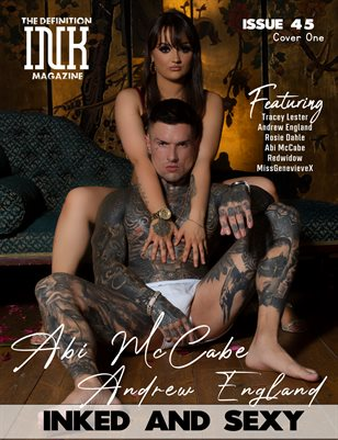 TDM INK Abi McCabe & Andrew England Issue 45 Cover1