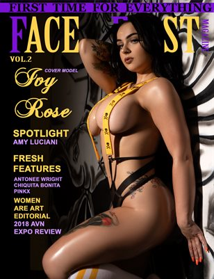 FACE FIRST MAGAZINE VOL.2 (IVY ROSE)