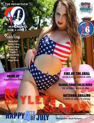 TDM:Kylee Janay Stars & Stripes Issue 3 Cover 3