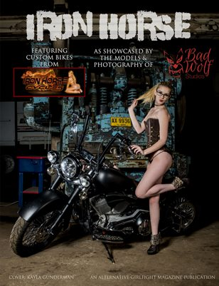 Iron Horse Cycles Presented by the Babes of Bad Wolf Studios | An Alternative GIRLFIGHT Magazine