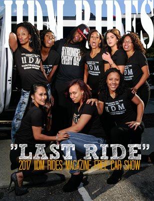 "IIDM RIDES Magazine ""LAST RIDE"""