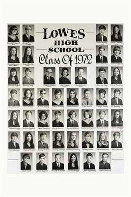 Class of 1972, Lowes High School, Graves County, Kentucky