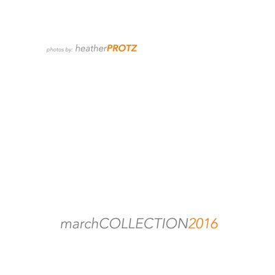 March Collection 2016