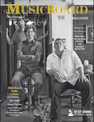 Feb 2013 MusicBoard Magazine