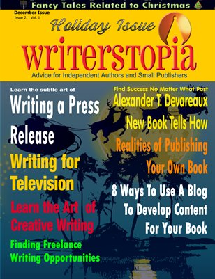 Writerstopia Dec 2011