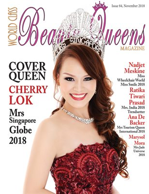 World Class Beauty Queens Magazine Issue 84 with Cherry Lok