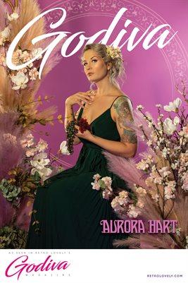 GODIVA No.13 – Aurora Hart Cover Poster