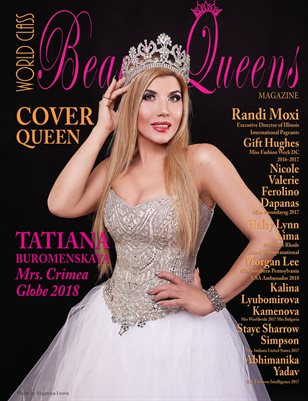 World Class Beauty Queens Magazine Issue 57 with Tatiana Burminskaya