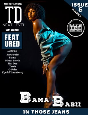TDM Jeans: vol.5 Bama Babii issue1cover 1