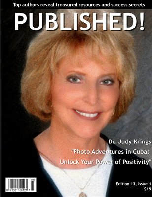 PUBLISHED!  featuring Judy Krings