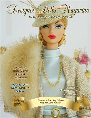 Designer Dolls Magazine - September 2015