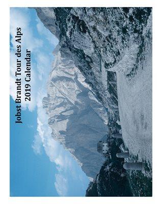 2019 Jobst Brandt Alps Tour Calendar