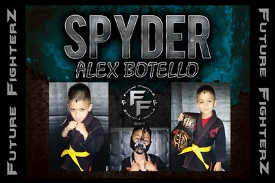 Alex SPYDER Botello Poster