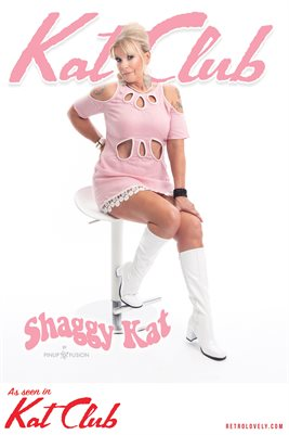 Kat Club No.33 – Shaggy Kat Cover Poster